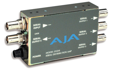 AJA D5DA 1x4 SDI Video Distribution Amplifier