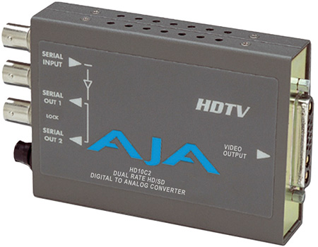 AJA HD10C2 HD-SDI & SDI to Component or Composite