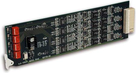 AJA R44E 4 Channel SDI to NTSC - PAL Converter