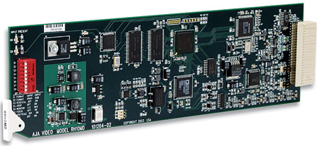 AJA RH10MD HD-SDI to 10 Bit SDI Downconverter and 1x4 SDA DA