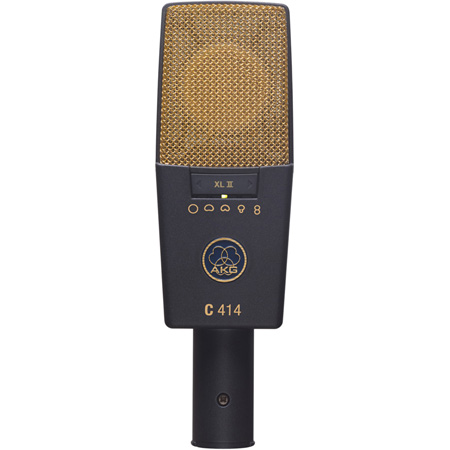 AKG C 414 XL II Single Large Diaphragm Studio Microphone