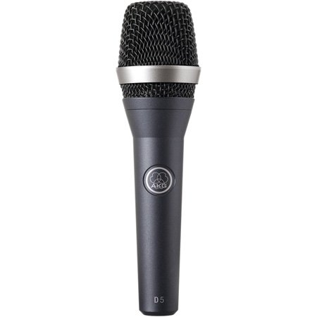 AKG D 5 - Supercardioid Handheld Dynamic Microphone