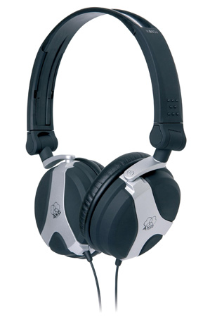 AKG K81DJ DJ Monitoring Headphone w/Full Sized Ear Cups & Carrying Bag