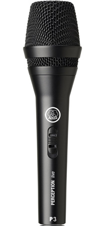 AKG P 3 S Rugged Performance Mic for Backing Vocals & Instruments
