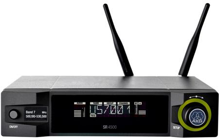 AKG SR 4500 True-Diversity HiQNet-Compatible UHF Receiver (Band 7)