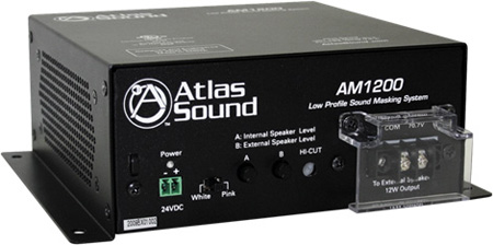 Atlas AM1200 Low Profile Sound Masking System