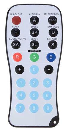 ADJ ADJ LED RC Wireless Infrared Remote Control upto 30ft