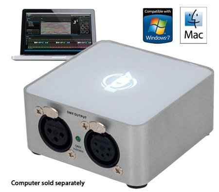 ADJ  MYD846 MyDMX 2.0 512 Channel DMX Software/Hardware Package