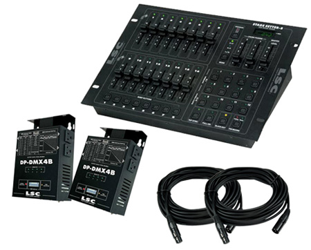 ADJ  Stage PAK 1 Stage Lighting System With DMX Control