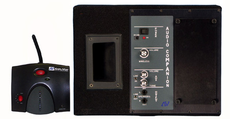 Amplivox S1204-70 Wireless Powered Dual Speaker Kit