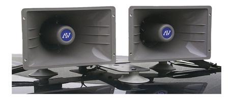 Car-Top Twin Horn Speaker