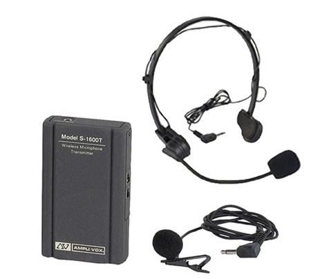 Wireless Lapel & Headset Mic Replacement Kit