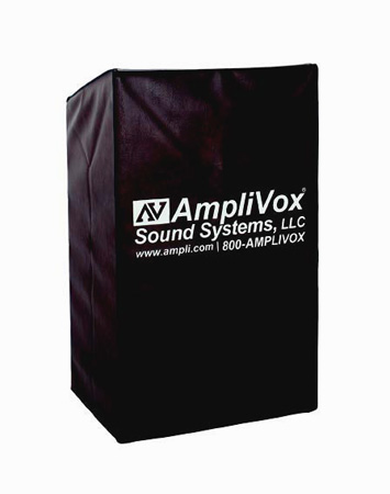AmpliVox S1972 Vinyl Water Resistant Cover for S470 Lecterns