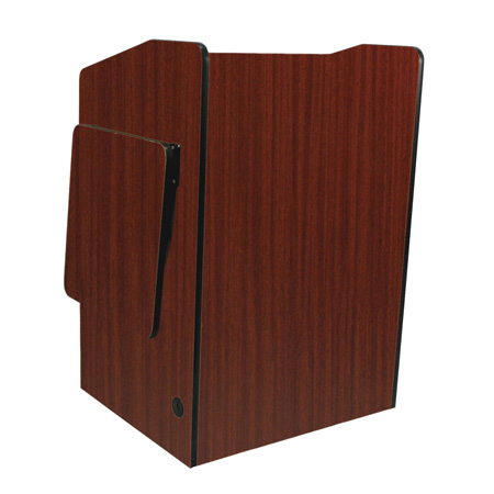 Amplivox SN3235-MO Lectern/Non-Sound/Deluxe Multimedia/Medium Oak