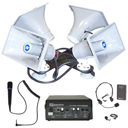 Amplivox SW314 Wireless Quad Sound Cruiser