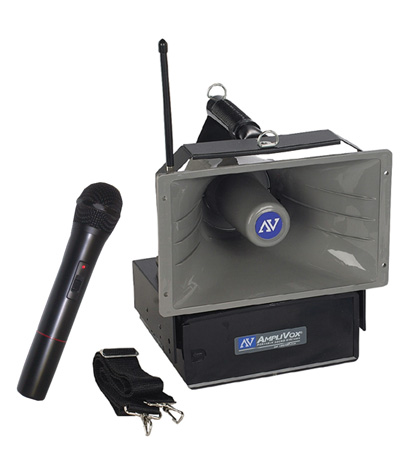 Amplivox SW615A Wireless Handheld Half-Mile Hailer