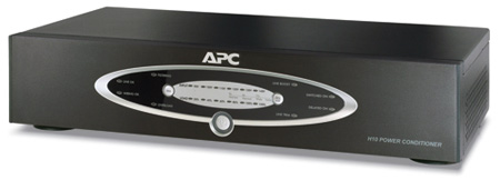 APC H10BLK  AV 1kVA H Type Power Conditioner 120V (Black)