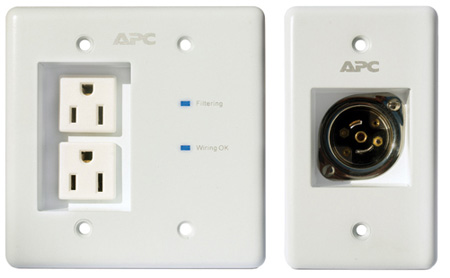 APC INWALLKIT-WHT AV In-Wall Power Filter and Connection Kit - White