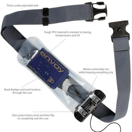 Aquapac 154 Waterproof Radio Microphone Case