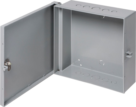 Heavy Duty Non-Metallic Enclosure Box 11x11x3.5 Inch