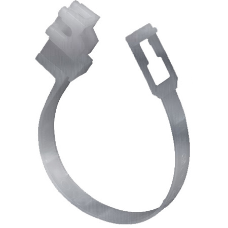 Arlington TL20P LOOP Cable Hanger - Holds 2in Bundle - 100 Pack(Silver)