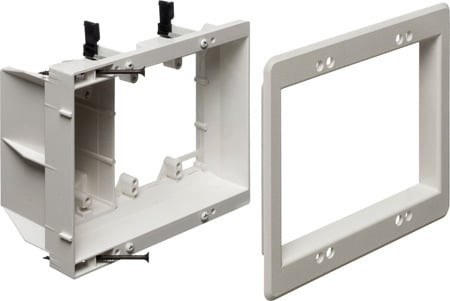 Arlington TVBU507 Recessed TV Box for Power and Low Voltage
