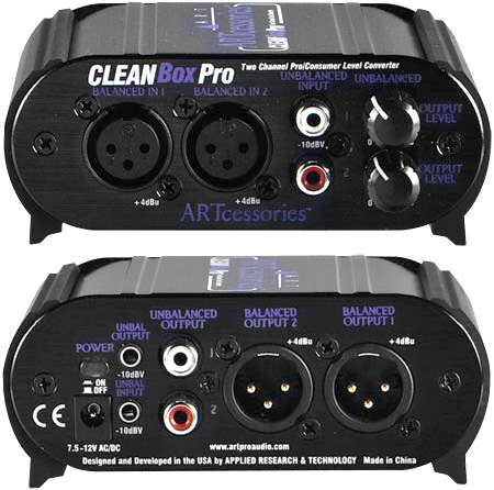 ART Cleanbox Pro Channel Level Converter