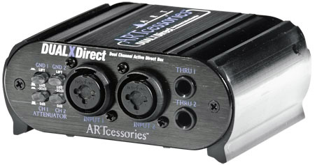 ART DUALXDirect Dual Professional Active Direct Box