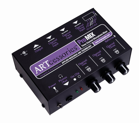 ARTcessories 3-Channel Portable Mixer