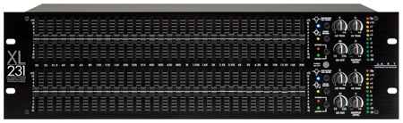 ART XL-231 - Pro Dual 31-Band Graphic EQ w/APF and Rear BNC