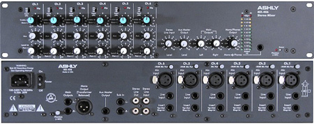 Ashly 6 Input Stereo Mic/Line Mixer with EQ
