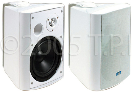 ASP-120W White Weather Resistant Speakers