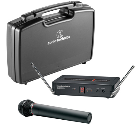 Audio-Technica PRO 5 Series PRO-502 Dynamic Wireless Handheld Microphone System