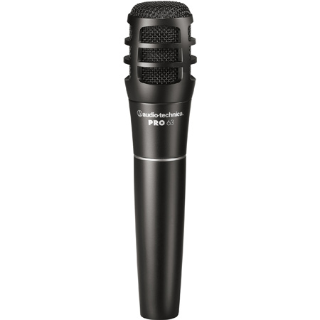 Audio Technica PRO 63 Cardioid Dynamic Instrument Microphone