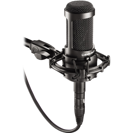 Audio-Technica AT2035 Studio Cardioid Condenser Side-Address Microphone