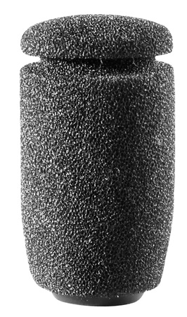 Audio-Technica AT8109 Small 2-Stage Foam Windscreen- Black