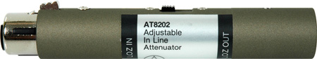 Audio-Technica AT8202 3 Position Adjustable In-Line Attenuator