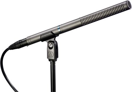 Audio Technica AT897 Line Plus Gradient Condenser Shotgun Microphone