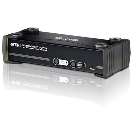 ATEN VS1508T 8-Port VGA Over Cat 5 Audio/ Video Extender / Splitter