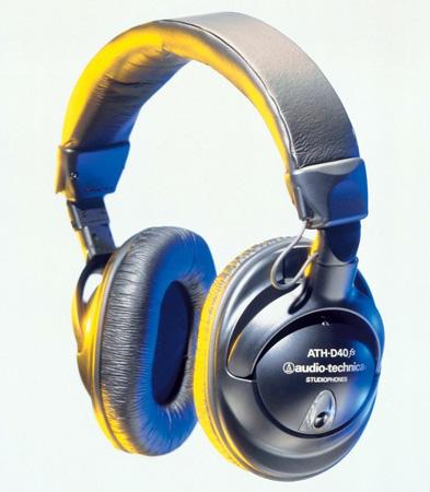 Audio-Technica ATH-D40fs Enhanced-bass Precision Studiophones