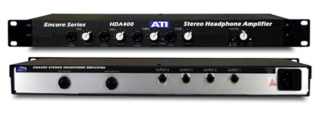 ATI HDA400 4-Ch High Power Stereo Headphone Amplifier