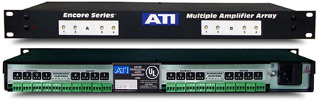 ATI MLA800-1 8-Ch Line Amplifier with Transformer Balanced Outputs