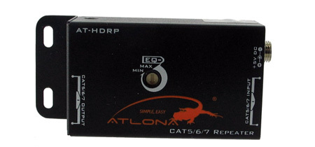 Atlona AT-HDRP CAT5/6/7 Repeater for V40SRS AT-HD50SS HD14SS HD19SS