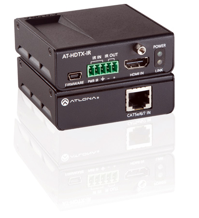 Atlona AT-HDTX-IR HDBaseT-Lite Transmitter over Single CAT5e/6/7 w/IR
