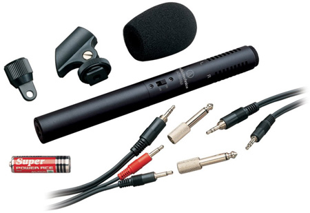 AT ATR6250 Stereo Condenser Video Recording Microphone