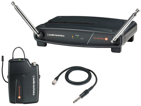AT ATW-801 System 8 VHF Guitar Wireless Tx & Rx System 170.245