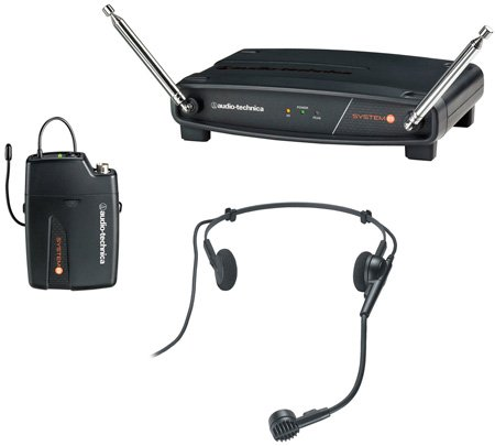 AT ATW-801/H PRO 8HEcW Headworn Mic Wireless System 171.905