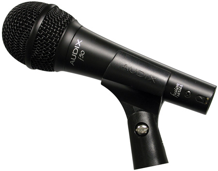 Audix F50-s Fusion Series Dynamic Vocal Microphone with On/Off Switch