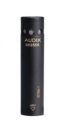 Audix M1255BWO Miniaturized Condenser Microphone - Omnidirectional White