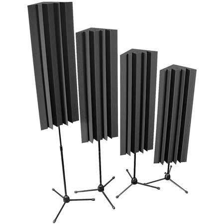 Auralex - Stand-Mounted LENRD Bass Traps (Charcoal Gray)